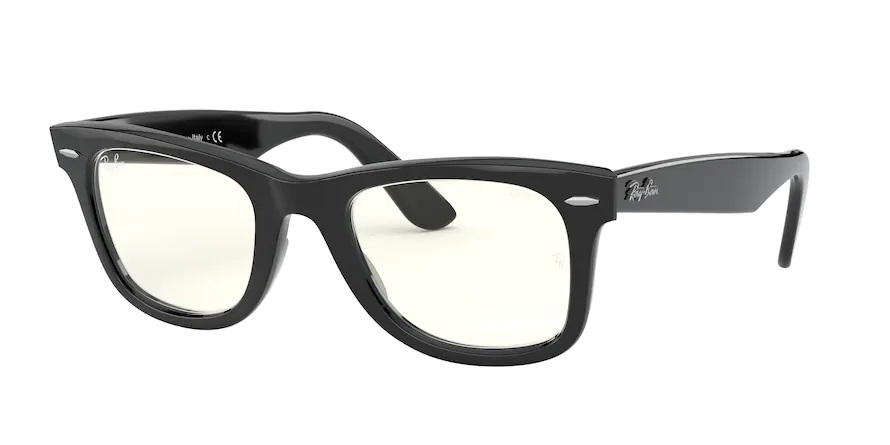 RB 2140 901/5F WAYFARER Clear Evolve
